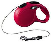 Flexi Classic XS поводок-рулетка ( 3м, до 8кг ,трос )