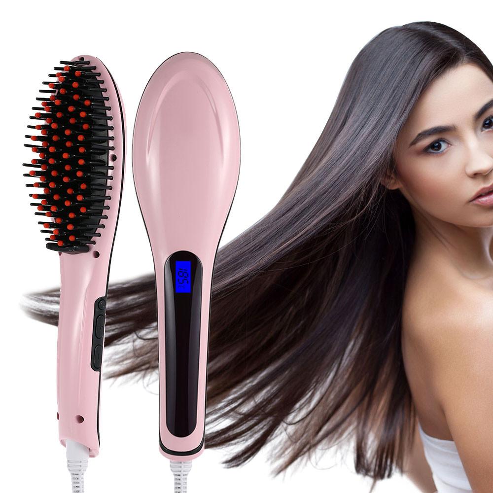 Расческа для выпрямления волос fast hair