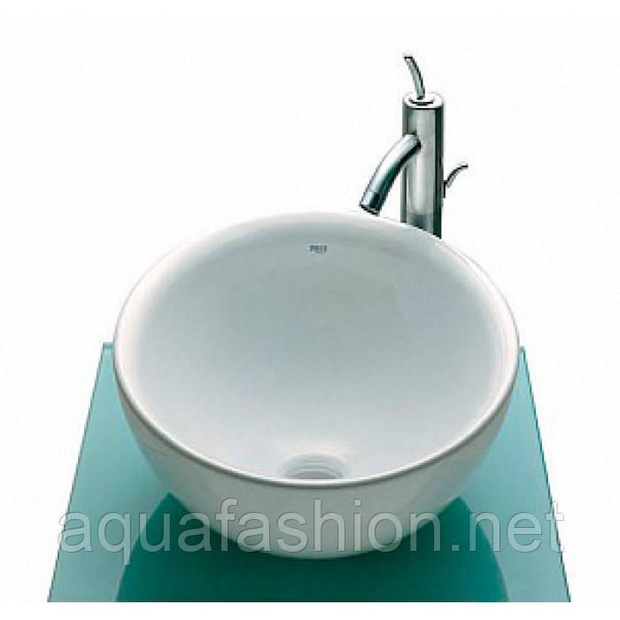 Раковина чаша на столешницу круглая 42 см Roca Bol