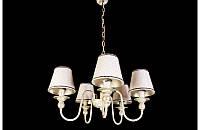 Люстра с абажурами на пять ламп LS6021-5 , фото 1