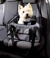 Trixie TX-13239 автокресло- сумка-переноска для собак и кошек (до 9кг)