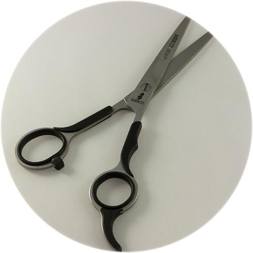 профессиональные парикмахерские ножницы Mertz с резиновыми накладками