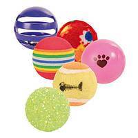 Trixie  TX-4523 Набор мячиков 6 шт -игрушки для кошек