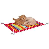 Trixie TX-45632 шуршащий коврик с кисточками для котят