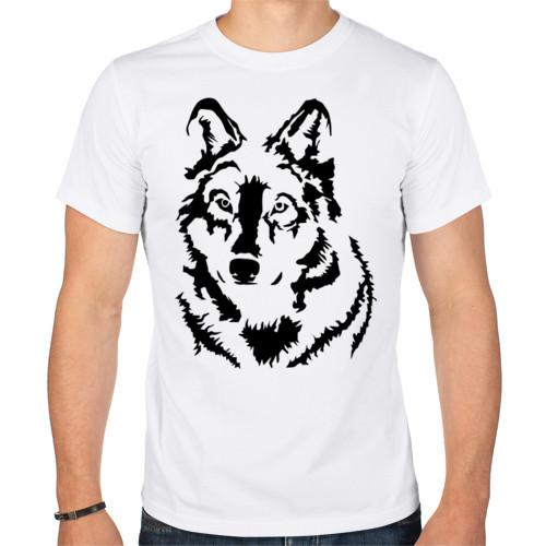 Футболка «Чёрный волк»