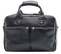 Мужская классическая черная сумка BLAMONT BN012A
