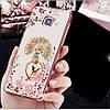 """Samsung A510 A5 2016 противоударный ультратонкий чехол со стразами кольцом мехом для телефона """"ENGLAND"""", фото 3"""