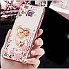 """Samsung A510 A5 2016 противоударный ультратонкий чехол со стразами кольцом мехом для телефона """"ENGLAND"""", фото 4"""