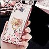 """Samsung A510 A5 2016 противоударный ультратонкий чехол со стразами кольцом мехом для телефона """"ENGLAND"""", фото 6"""