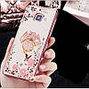 """Samsung A510 A5 2016 противоударный ультратонкий чехол со стразами кольцом мехом для телефона """"ENGLAND"""", фото 7"""