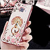 """Samsung A510 A5 2016 противоударный ультратонкий чехол со стразами кольцом мехом для телефона """"ENGLAND"""", фото 8"""