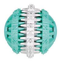 Trixie  TX-32941 Denta Fun Mintfresh мяч натуральный каучук (мята 6см)-игрушка для собак