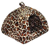 Лори «Лорі» Юрта №1 Леопард-место для котов и собачек (36*40*40)