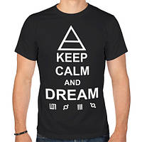 Футболка «Keep calm and dream 30 Seconds to Mars»