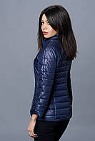 Женская демисезонная куртка. Код модели К-70-12-16. Цвет темно синий.