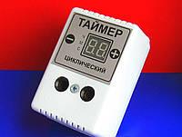 Таймер ТЦ-2 циклический в розетку на 2 кВт