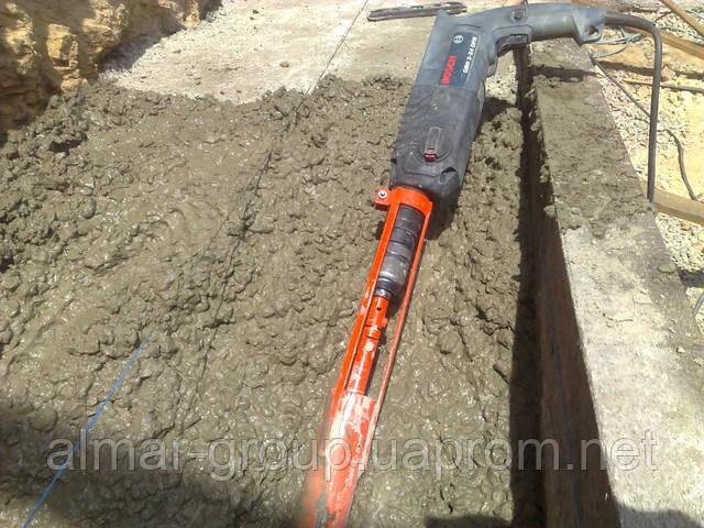 Насадка на дрель вибратора для бетона купить готовые бетонные смеси в мешках