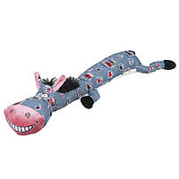 Trixie ТХ-35839 ослик плюшевый с пищалкой 55см- игрушка для собак