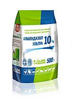 Альбендазол Ультра 10% порошок 500 г - антигельминтик для всех видов животных и птицы