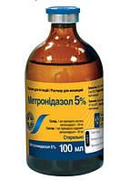 Метронидазол 5% 100мл-всем видам животных для лечения и профилактики дизентерии
