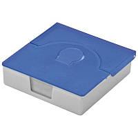 Практичная пластиковая коробочка для визиток, цвет на выбор