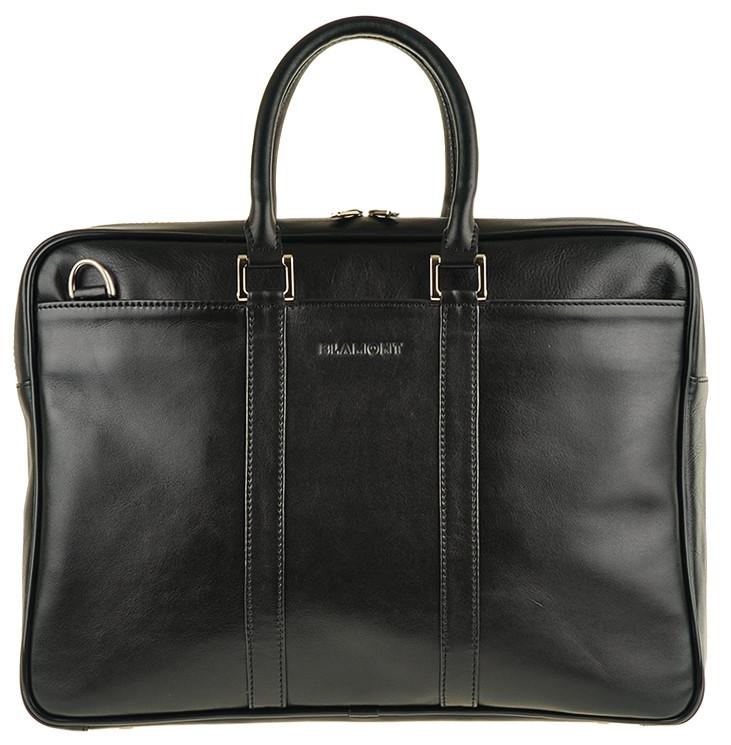 Мужская вместительная кожаная сумка BLAMONT Bn023A