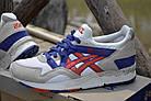 """Женские кроссовки Asics Gel Lyte 5 """"White"""" (в стиле Асикс Гель Лайт 5) серые, фото 3"""