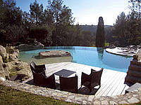 Строительство бассейна: Мозаика и композитный бассейн