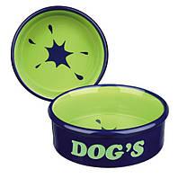 """Trixie TX-24489 миска """"Dog's"""" для собак  1л/20см"""