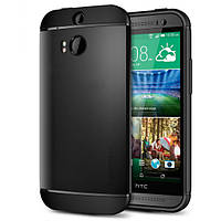 Чехол SGP Spigen Slim Armor для HTC One 2 M8 Smooth Black, фото 1