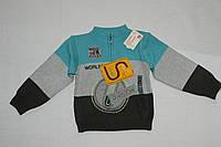Джемпер для мальчика 2-3 года