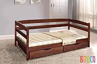 Кровать Микс Мебель Ева с матрасом и ящиками  900*2000 под заказ