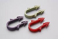 Крепления двойные (без дюбеля) для 16 металлопластиковой трубы (уп. 50 шт.)