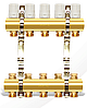 Коллектор двойной с креплением - 2 выхода