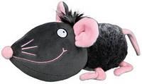 Trixie TX-35793 мышь плюш с шелестом фольги игрушка  для собак 33см