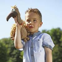 Trixie ТХ-35913 игрушка для собак  гриф (плюш) 33см