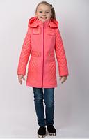 Детское  весеннее пальто на девочку  Кокетка