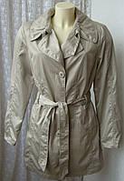 Плащ женский легкий демисезонный короткий бренд Gelco outdoor р.46-48 6127а