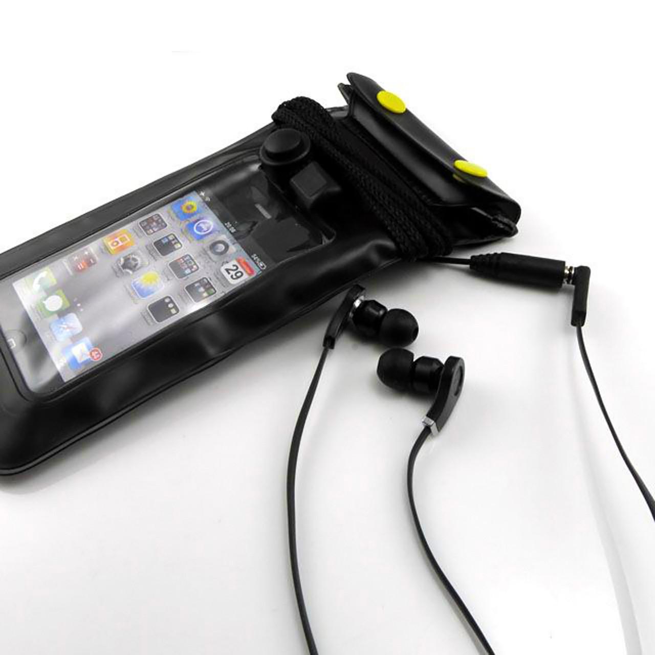 водонепроницаемый чехол для телефона с разъемом для наушников