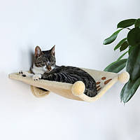 Trixie TX-43511 гамак для кота (плюш) с креплением к стене 42х41х15см