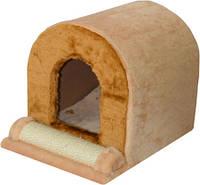 Когтеточка,дряпка Лори Тунель  для кота  33*46*35см(сизаль)