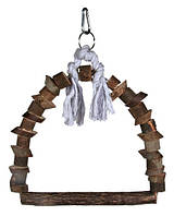 "Trixie TX-5891 качель-арка ""NaturalLiving""для птиц (дерево) 22х29см"