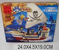 Конструктор Brick 304 705560 36шт Пираты 188 дет., в разобр.  кор 24195см
