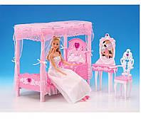 Мебель Gloria 2614 36шт3 для спальни, кровать, туалетный столик,…в кор.33175,5см