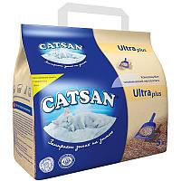 Catsan ULTRA plus 5л- наполнитель  комкующийся