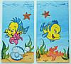 """Салфетка для декупажа""""Рыбки"""", размер 33*33 см, трехслойная"""