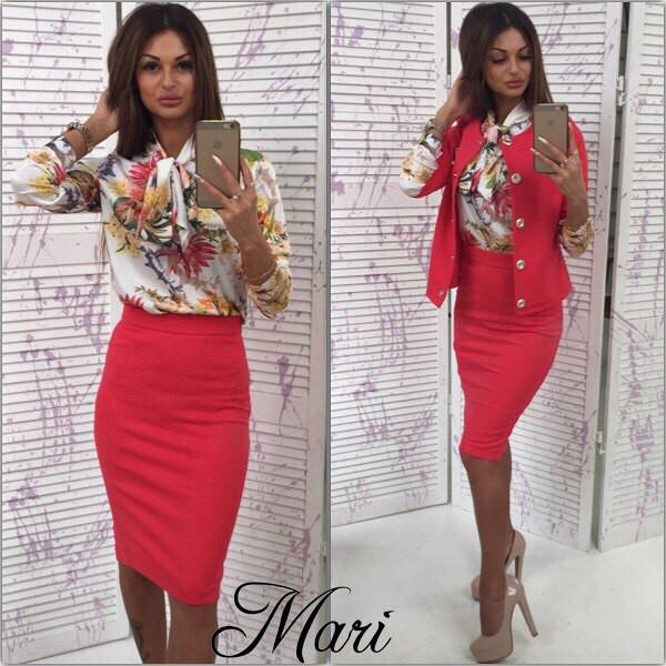 a3243d6d649b Женский деловой костюм (арт.86170476) - Aleksa - интернет-магазин женской  одежды