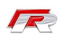 Эмблема кузова VW Volkswagen R-line Rline красная