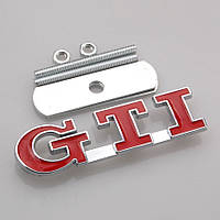Эмблема решетки радиатора VW GTI, фото 1