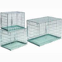 Papillon Клетка-переноска для собак металлическая с 2-мя дверьми 76*53*60см